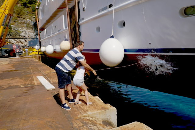 Launching of Adriatic Sun