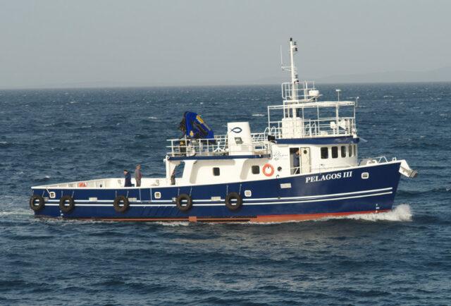 Isporuka radnog broda za uzgajalište