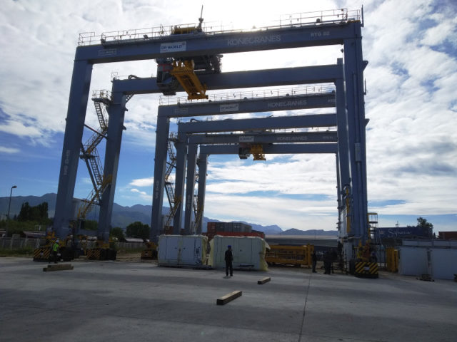 RTG cranes for Algeria