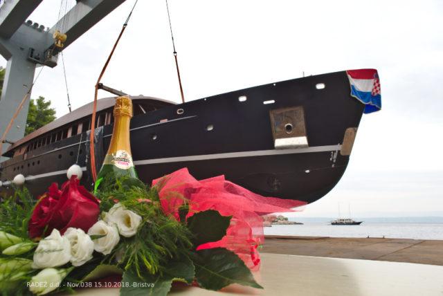 Sailing ship built in Radež
