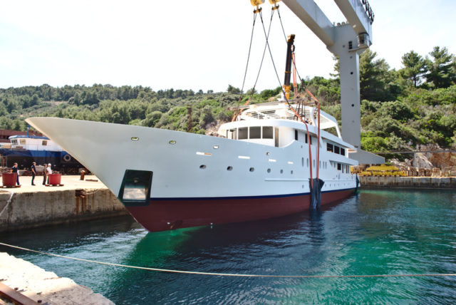 Delivery of vessel for the company Omiški Gusar