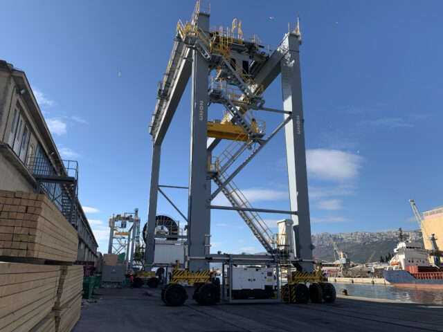 New delivery RTG cranes to Turkey